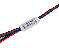 """Мини-усилитель RGB 72W, """"провод-провод"""""""