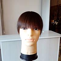 Накладка из волос для маскировки редких волос на темени и макушке