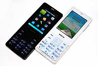 Nokia N515 - 2 сим, тонкий, FM