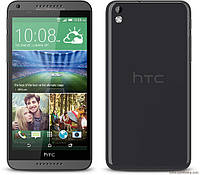 "HTC 816 экран 5.5"", 2 sim, 4 ядра, WiFi, Android, камера 13МР - Черный, Белый"