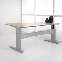 501-11-1S 196: Офисный стол Conset для работы сидя-стоя с электроприводом Bosch грузоподъемностью 150 кг