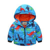 Детская Куртка демисезонная для мальчика рост 100,110 см