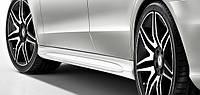 Обвесы порогов AMG Mercedes-Benz E-Class W212 Новые Оригинальные