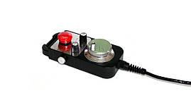Ручной генератор импульсов MPG100, кнопка E-stop (пульт управления) для станков с ЧПУ, фото 3