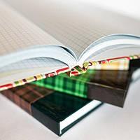 Книга канцелярская, (А4) - 192 листа,твердый переплет, офсет