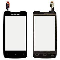 Сенсорний екран для мобільного телефону Lenovo A390T, чорний