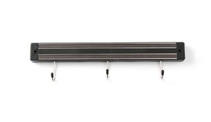 Магнітні стрічки для ножів з гачками Hendi 820209 300 мм., фото 2