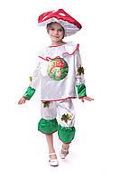 Детский маскарадный костюм мухомора, фото 1