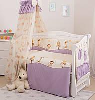 Постельное белье для детской кроватки Twins Standart Африка, фото 1