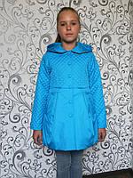 """Куртка весна-осень """"Малышка"""" голубой"""