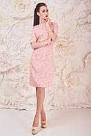 Классическое Платье Корал Ариан Размер 50-54 Бавовна - 34%; Поліестер - 63%; Еластан 3%;