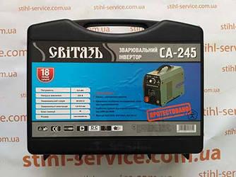 Сварочный аппарат Світязь СА-245 ДК (дисплей+кейс)