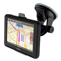 Навигатор 5' GPS Globex GE520, процессор Mstar MSB2531 ARM A7 800Mhz, ОЗУ 248 Mb, 8 Gb, Micro SD Card до 32 Gb, Windows CE 6.0, 480x272, 800mAh