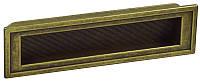 WMN552.128.00D1 Ручка мебельная РГ 131 старое золото врезная 128мм - металлическая Италия GIUSTI
