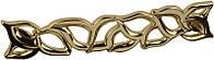 WMN688.128 00GP Ручка мебельная РГ 357 золото глянцевое накладная 128мм - металлическая Италия GIUSTI