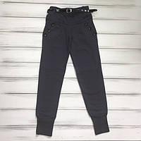 Детские Брюки брюки  с начесом для девочек оптом р.134-158см