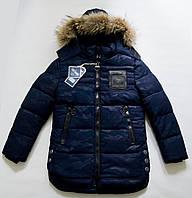 Стильная куртка парка на зиму, подросток