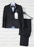 Классический костюм черный подросток.Ammar Турция, 152-176, фото 3