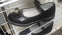 Лаковые туфли школьные на каблучке для девочки Мальвина 31-36