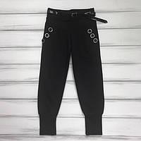 Детские брюки черные для девочек Размеры 104-110-116-122, фото 1