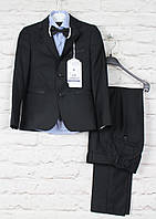 Школьная форма черная для мальчиков.Ammar  Турция,116-146 см