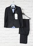Класичний чорний костюм для хлопчиків.Ammar Туреччина,116-146 см, фото 3