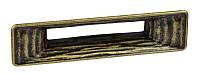 РК720 Ручка мебельная РК-720 старое золото накладная 128мм - металлическая Китай Falso Stile
