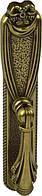 РК517 Ручка мебельная РК-517 старое золото накладная кнопка - металлическая Китай Falso Stile