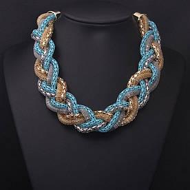 Колье ожерелье женское Avrora