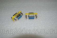 Переходник RS 232 (female) / RS 232 (female)