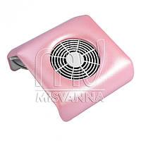 Вытяжка для маникюра квадратная 20х20х8,5 см Absorb Dustmachine (розовый) пылесос