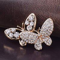 Брошь женская Butterflies