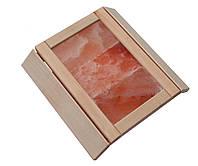 Абажур из гималайской соли для бани/сауны, 3 пластины