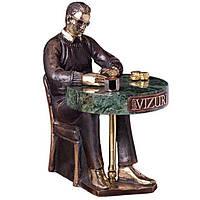 Бронзовая статуэтка «Звезда покера» Vizuri H05