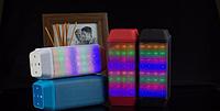 Портативная колонка USB B56 Bluetooth, музыкальная колонка со светомузыкой!Опт
