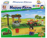 Детский конструктор счастливая ферма на 82 деталей