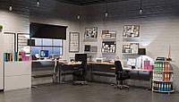 501-25-7S 172: Компьютерный стол Conset для работы сидя-стоя с электроприводом (увеличенная жесткость рамы, не