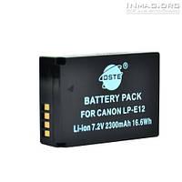 Аккумулятор для фотоаппарата Canon LP-E12, 2300 mAh.