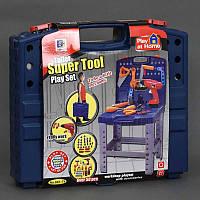 Набор инструментов 661-74 (12) стол-чемодан, в коробке