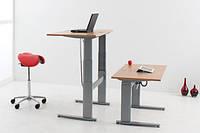 501-27-7S 152: Эргономичный компьютерный стол Conset для работы сидя-стоя для детей и школьников