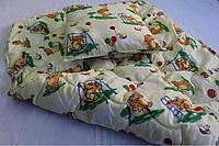 Детское одеяло+подушка,наполнитель-силикон