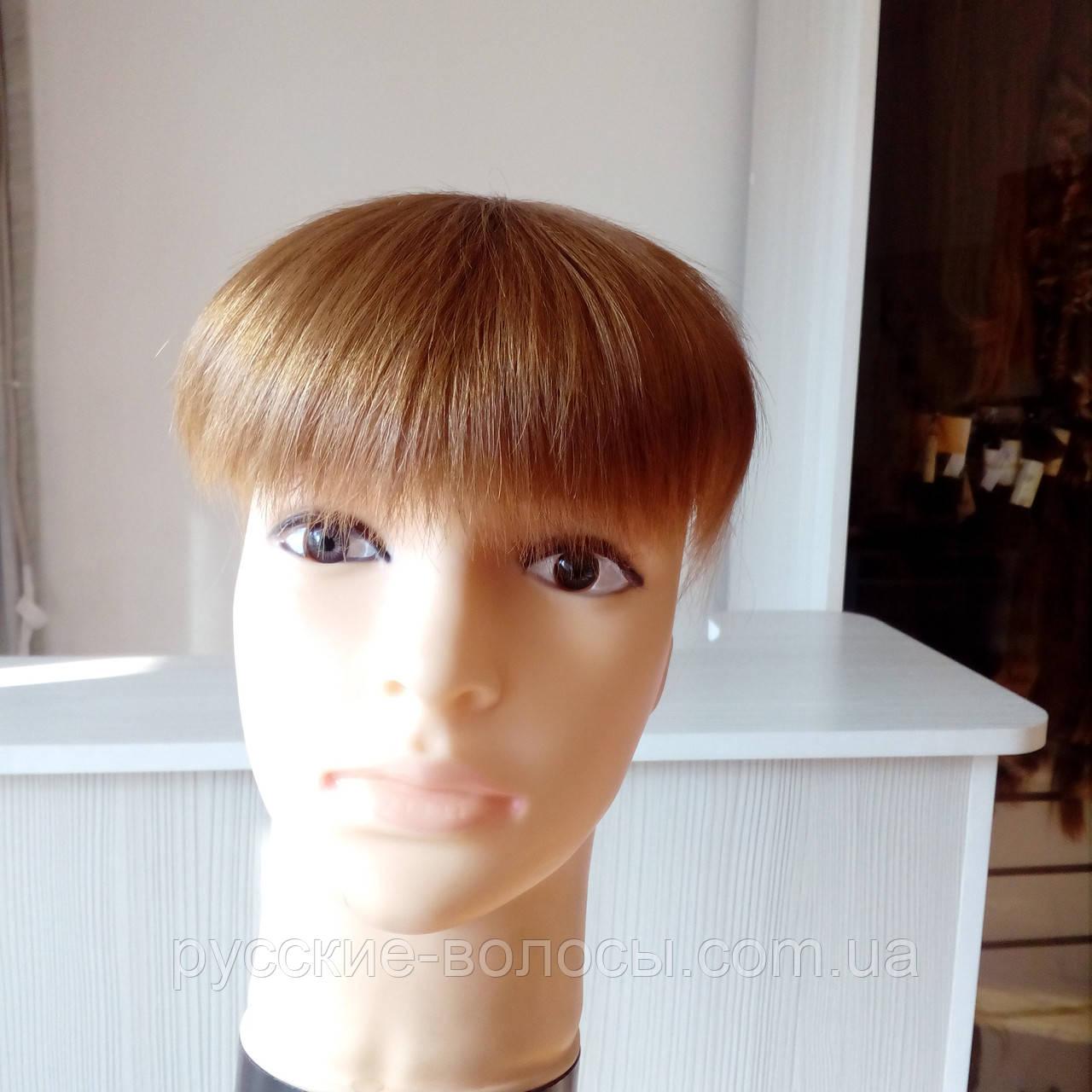 Накладка из волос на макушку