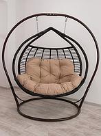 """Подвесное кресло из ротанга """"Galant Premium""""."""