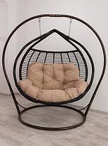 """Підвісне крісло з ротанга """"Galant Premium""""."""
