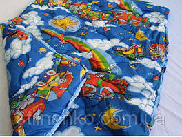 Шерстяное детское одеяло,наполнитель-овечья шерсть,Украина