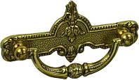 EXP5144/0A.30 Ручка мебельная РГ 100 золото барокко накладная 96мм - металлическая Италия GIUSTI