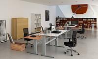 501-29-7S 152: Эргономичный офисный стол Conset для работы сидя-стоя с электроприводом (для высоких людей)