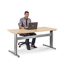501-29-7S 172: Эргономичный офисный стол Conset для работы сидя-стоя с электроприводом (для высоких людей)