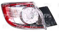 Фонарь задний для Mazda 3 хетчбек '09-13 правый (DEPO) внешний, Led