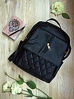Модный рюкзак черного цвета